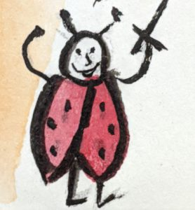 Della the Janked-Up Ladybug